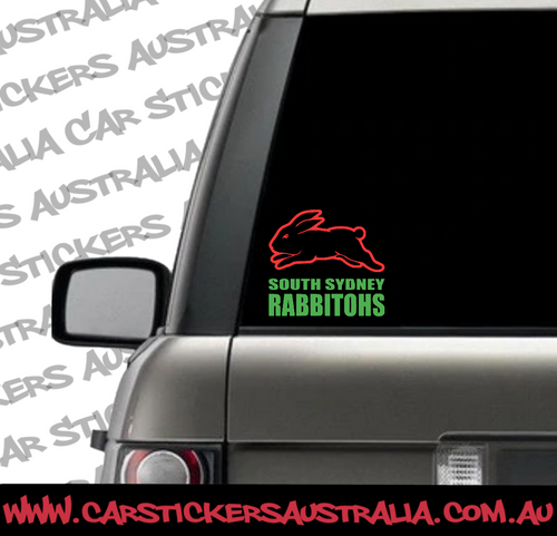 South Sydney Rabbitohs afterpay merch, Car Decals Sydney Rabbitohs