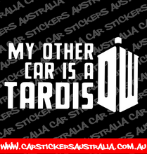 My Other Car Is  A Tardis