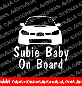 Subie Baby On Board