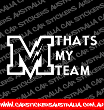 Thats My Team - Melbourne Storm