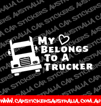 My Heart Belongs To A Trucker