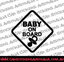 Baby On Board (With Dummy)