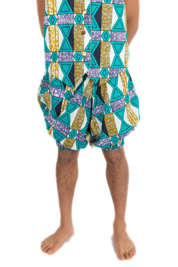 Turquoise Shorts Men's Festival Bloomers MADWAG