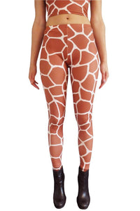 Giraffe Leggings Festival Party Leggings MADWAG