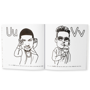 A B to Jay-Z Coloring Book