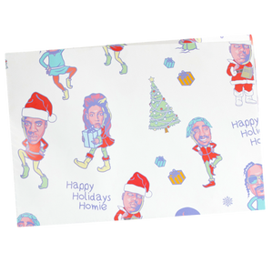 Happy Holiday (w)Rapping Paper
