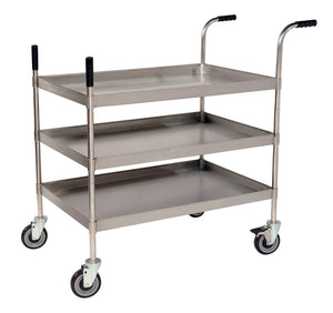 SSGT324-3 HEAVY DUTY TROLLEY 914 x 610 x 1050 MM - American Catering Equipment (UK) Ltd