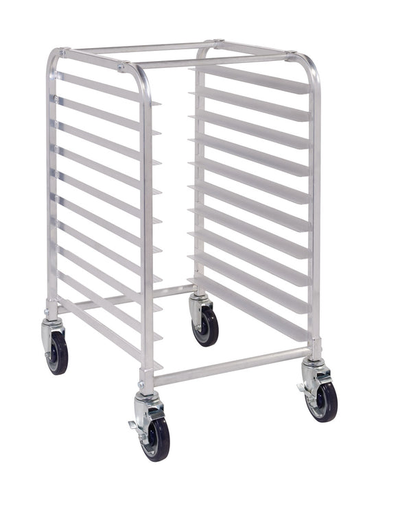 ASPR10-C 10 Tier Aluminium Mobile Pan Rack - No Pans - American Catering Equipment (UK) Ltd