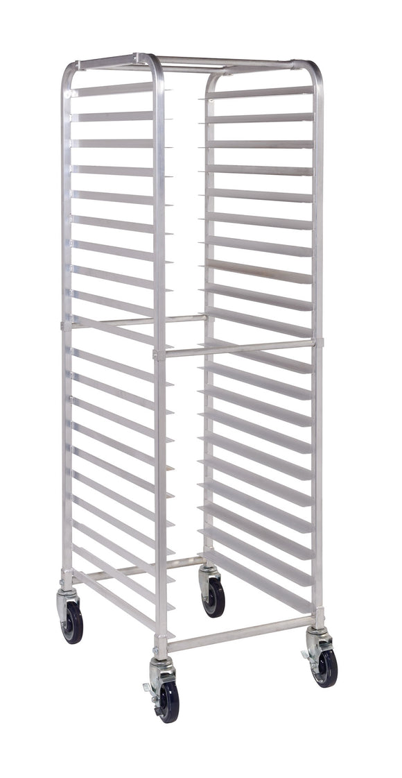 ASPR20-C 20 Tier Aluminium Mobile Pan Rack - No Pans - American Catering Equipment (UK) Ltd