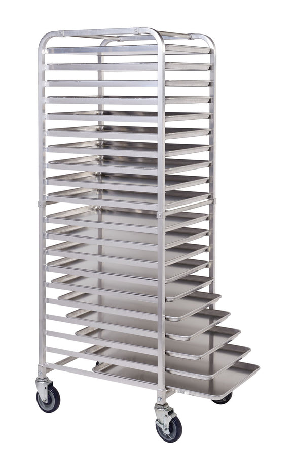 20 Tier Aluminium Mobile Pan Rack Including Pans - American Catering Equipment (UK) Ltd