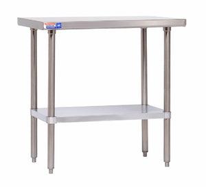 SSCT330 CENTRE TABLE 914 X 762 MM - American Catering Equipment (UK) Ltd