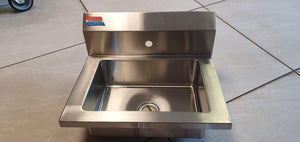 WASH HAND BASIN NO TAPS (BASIN ONLY) - American Catering Equipment (UK) Ltd