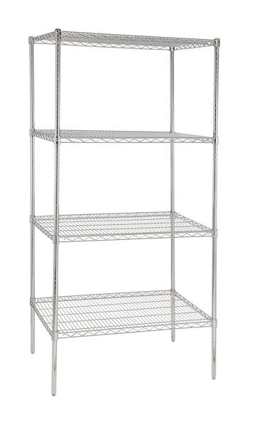 CMR324 - 900 mm wide -  Four adjustable shelves - American Catering Equipment (UK) Ltd