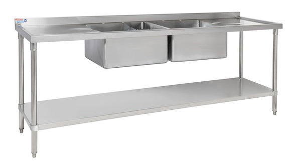 "SSDCB824-1 SINK - 255 MM (10"") DEEP BOWLS - American Catering Equipment (UK) Ltd"