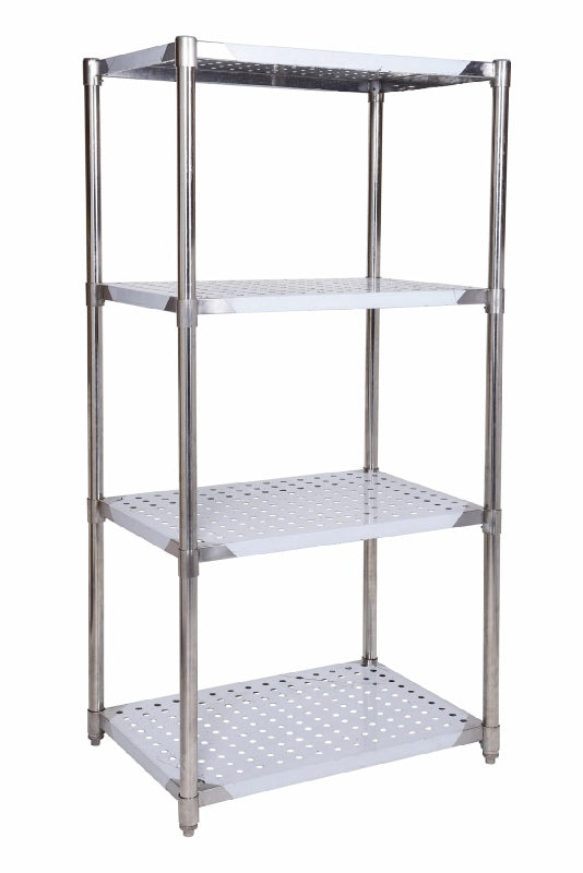 SSRP324 PERFORATED STAINLESS STEEL RACK 914 X 610 MM - American Catering Equipment (UK) Ltd