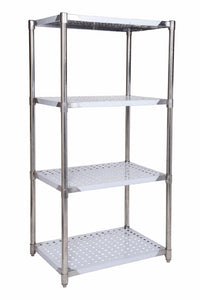 SSRP424 PERFORATED STAINLESS STEEL RACK 1219 X 610 MM - American Catering Equipment (UK) Ltd