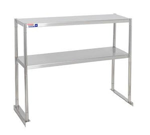 SSTP312-2 FIXED DOUBLE OVER SHELF UNIT 914 X 304 MM - American Catering Equipment (UK) Ltd