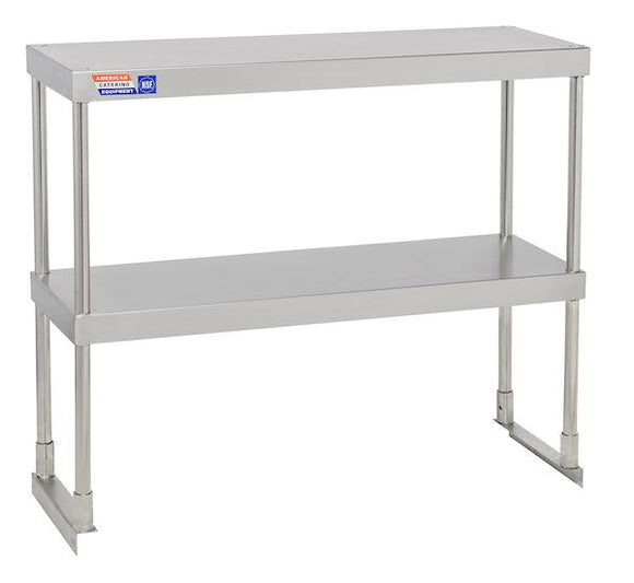 SSTP312 ADJUSTABLE DOUBLE OVER SHELF UNIT 914 X 304 MM - American Catering Equipment (UK) Ltd