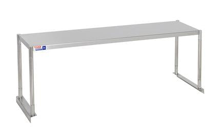 SSTP412-1 FIXED SINGLE OVER SHELF UNIT 1219 X 304 MM - American Catering Equipment (UK) Ltd