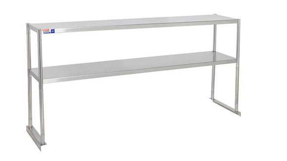 "SSTP512-2 OVER SHELF 1524 X 304 X 730 MM (60"" X 12"" X 29"") FIT EXISTING OR NEW EQUIPMENT - American Catering Equipment (UK) Ltd"