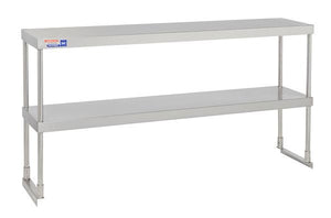 SSTP512 ADJUSTABLE DOUBLE OVER SHELF UNIT 1524 X 304 MM - American Catering Equipment (UK) Ltd