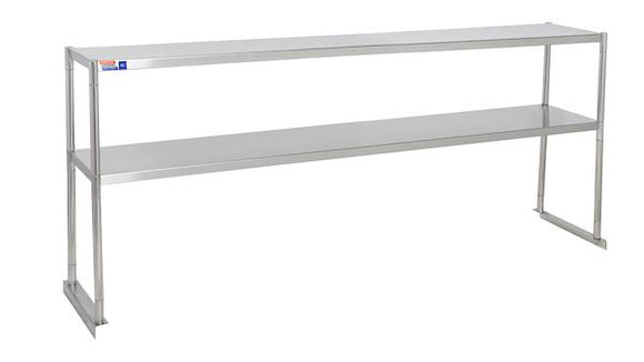 "SSTP612-2 OVER SHELF 1829 X 304 X 730 MM (72"" X 12"" X 29"") FIT EXISTING OR NEW EQUIPMENT - American Catering Equipment (UK) Ltd"