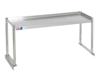 SSTU312-1 FIXED SINGLE OVER SHELF UNIT 914 X 304 MM - American Catering Equipment (UK) Ltd