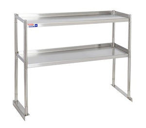 SSTU312-2 FIXED DOUBLE OVER SHELF UNIT 914 X 304 MM - American Catering Equipment (UK) Ltd