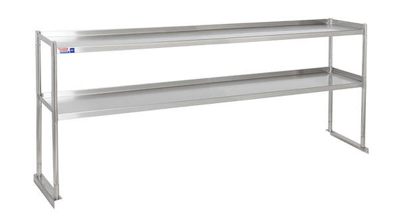 SSTU612-2 FIXED DOUBLE OVER SHELF UNIT 1829X 304 MM - American Catering Equipment (UK) Ltd