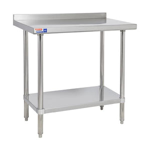 SSWB324 WALL TABLE 914 X 610 MM - American Catering Equipment (UK) Ltd