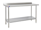 SSWB524 WALL TABLE 1524 X 610 MM (SALE) - American Catering Equipment (UK) Ltd