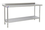 SSWB630 WALL TABLE 1829 X 762 MM - American Catering Equipment (UK) Ltd