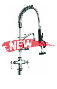 Mono-bloc pre-rinse with filler tap - UK connections - (MPR20) - American Catering Equipment (UK) Ltd