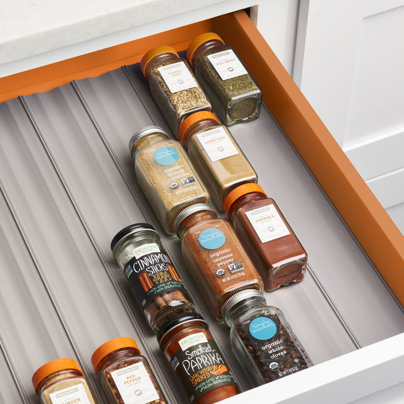 YouCopia - Spice Liner - Spice Drawer Organizer