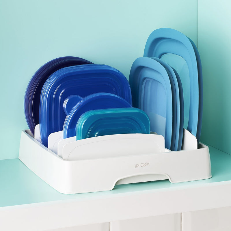 YouCopia - Stora Lid - Food Container Lid Organizer (Large)