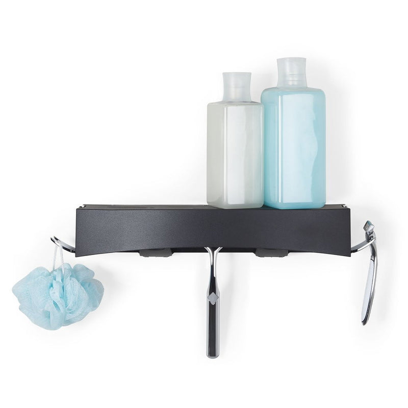 my-diygadgets-com - Better Living - Clever - Flip Shower Shelf ( Black ) - Better Living - Shower Shelf