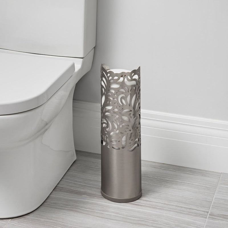 my-diygadgets-com - Better Living - Rollo Folia - Toilet Roll Holder (Brushed Nickel) - Better Living - Toilet Roll Holder