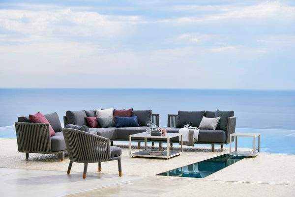 Large sofa group outdoor furniture