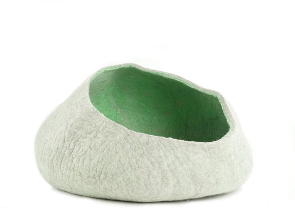Green Condo Cat Cave Bed - MIMISDAUGHTERS