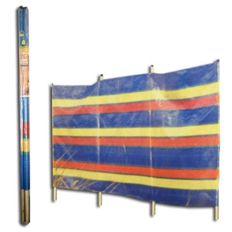 6 Pole Tall Windbreak - 375cm long - AVAILABLE IN STORE ONLY