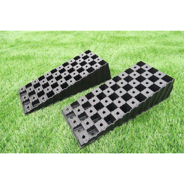 MGI Wedge Level Twin Pack - Caravan Ramps