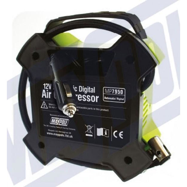 12V Automatic Digital Air Compressor/Inflator