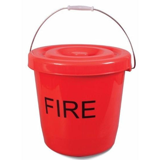 Fire Bucket 15L with lid