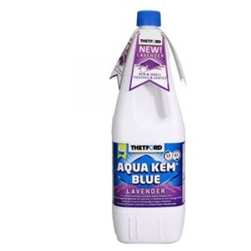 Aqua Kem Blue Lavender Toilet Chemical - 1L - AVAILABLE IN STORE ONLY