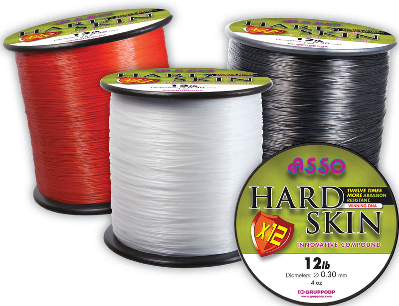 Asso Hard Skin 4oz Black 16lb