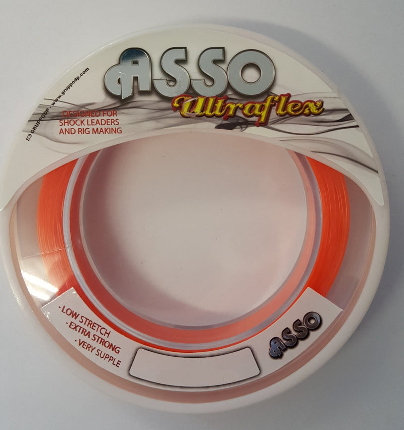 Asso Ultraflex Orange 50m - 80lb