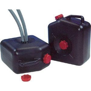 Black Waste Water Carrier - 23L