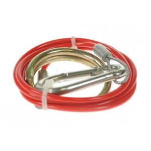 Maypole Breakaway Cable Red - 1m x 2mm