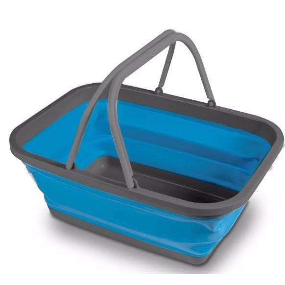 Kampa Folding Washing Bowl - Large Blue