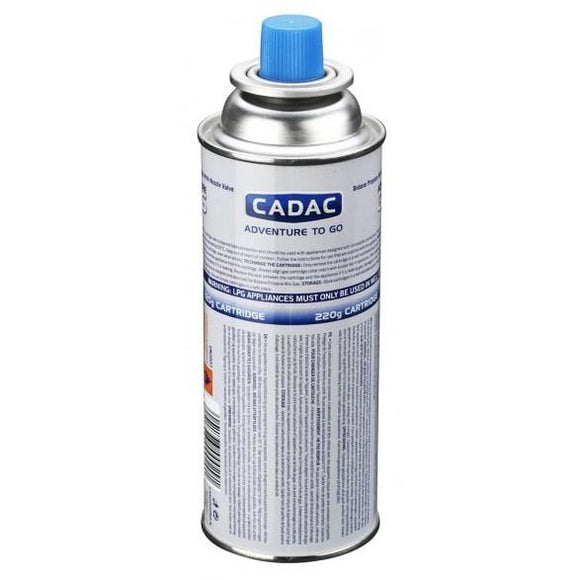 Cadac 220g Aerosol Nozzle Gas Cartridge